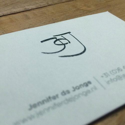 Business card Jennifer de Jonge